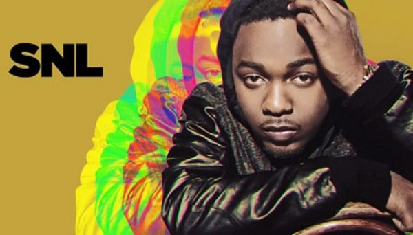 Kendrick Lamar Hits The SNL Stage