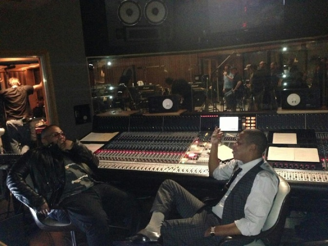 Timbaland Joins Jay-Z at Roc Nation