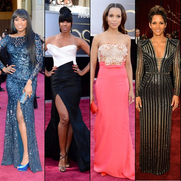 WHO CRUSHED IT: LOOKS FROM OSCARS 2013