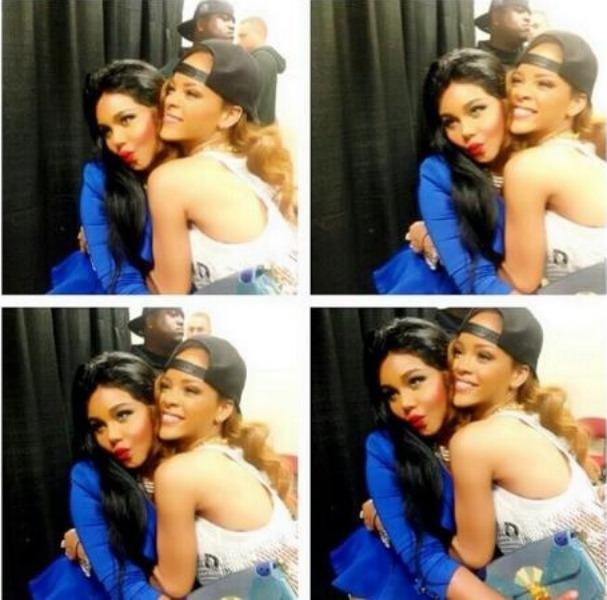 Lil Kim and RiRi