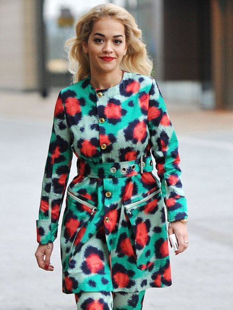 rita-ora-bbc-breakfast-kenzo-spring-2013-leopard-print-coat-and-trousers-2