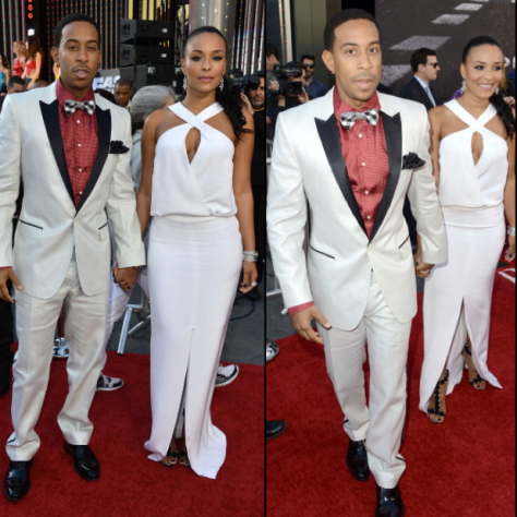 Ludacris was spotted with his girlfriend Euxodie,