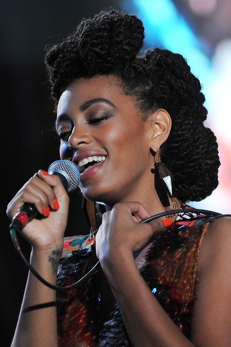 Glamour Live Show - Solange Knowles In Concert