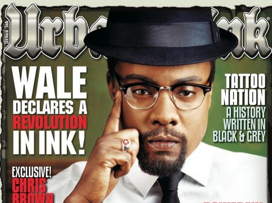 Wale Channels His Inner Malcolm X in Urban Ink
