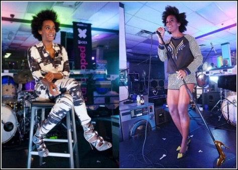 Solange-Knowles-Performs-at-Brooklyn-Atlantis-Laundromat-in-Zero-Maria-Cornejo-jumpsuit-nicholas-kirkwood-beaded-printed-lace-up-booties-fader-music-festival-8