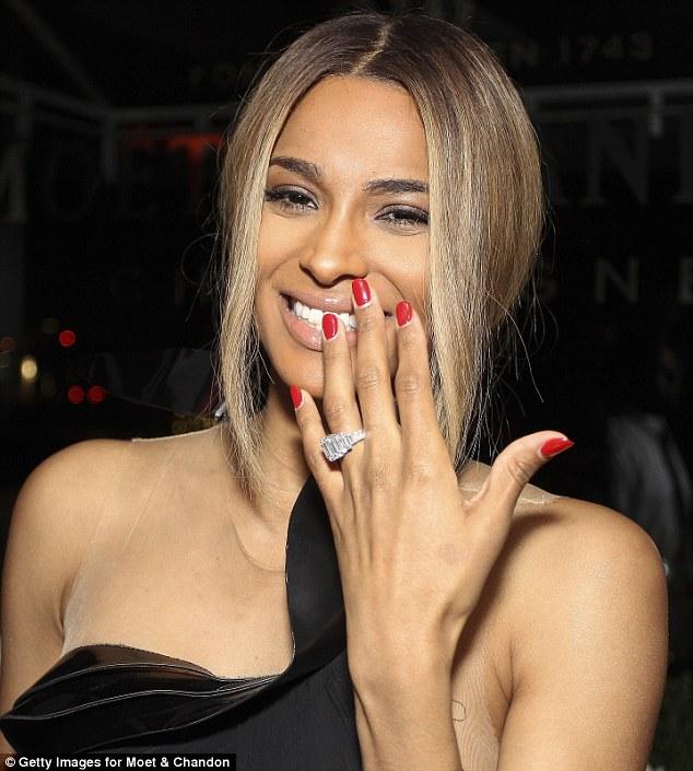 Ciara and Kelly Rowland both rock sheer black and is Ciara prego?
