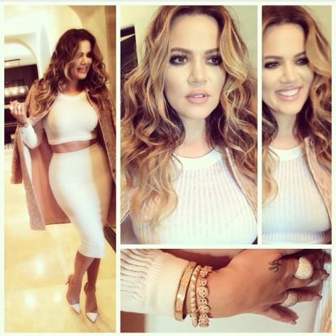 khloe-kardashian-instagram-stella-mccartney-coat-gianvito-rossi-pvc-pumps